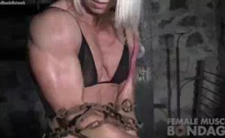 Fisiculturista Feminina Em Van