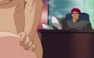 Mulher Com Pinto Anime
