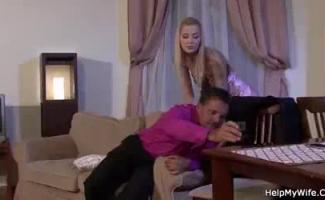 Colby Johnson Fode Sua Namorada Chloe Temple Em Fundição Falsa