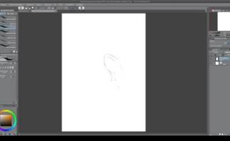 Desenho Realista Mulher Nua