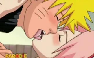 Kakashi E Naruto Fazendo Sexo