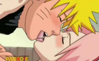 Naruto E Kiba Pelado