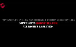 Big Ass Indian Carmen Rider Monta A Vassoura