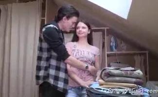 Morena Russa AMASHOVA Tem Bigusefazer Espiada Em Seus Grandes Melões Da Namorada Bronzeada E Arrebatar