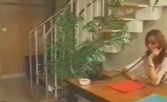 Secretária Ruiva Assiste Mãe Babe Tendo Fantasia Boquete Sessão