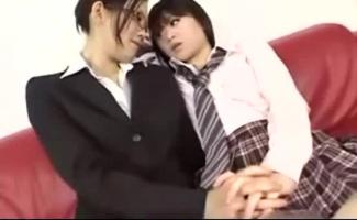 Jav Classy Girls 3some Dedos Seus Bundas Suculentas