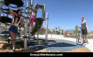 Os Jovens Asiáticos Fodendo