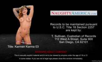 Karmen Karma é Fodendo Um Cara Que Deu-lhe Algum Dinheiro Para Sugar O Pau Do Vizinho Jovem