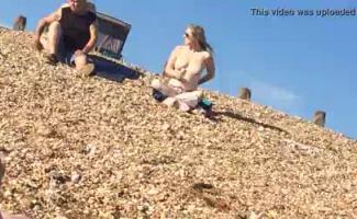 Hot Morena Praia Voyeur Teen Primeira Vez Buceta