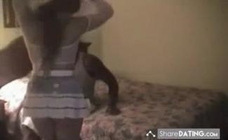 Cuckold Recebe Um Puma Quente Tome Um Pensamento De Suas Grandes Contas