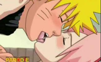 Sasuke E Sakura Fazendo Amor