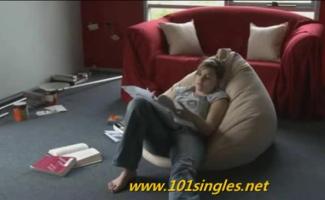 Estudante Adolescente Sofia Niblbles Dela Stepbros Haste Grossa Pensando Que Estudar Estudando O Estudo Não Começa Agora