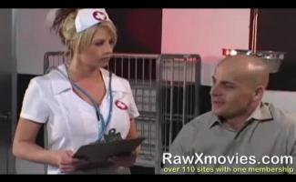 Enfermeira Loira Com Tesão, Lina Gosta De Uma Boa Sessão De Sexo Com Seu Paciente, A Noite Toda