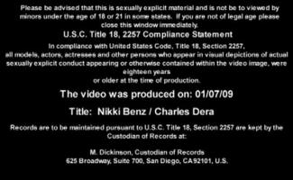 Nikki Benz é Um Grande Mel Titted, Que Gosta De Sua Nova Escrava Sexual, Mais Do Que Qualquer Outra